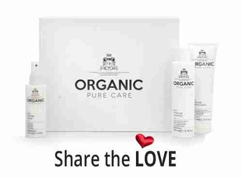 Organic Pure Care - Share the love