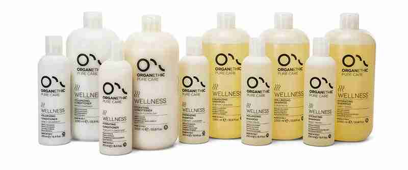 Wellness Hair Product range
