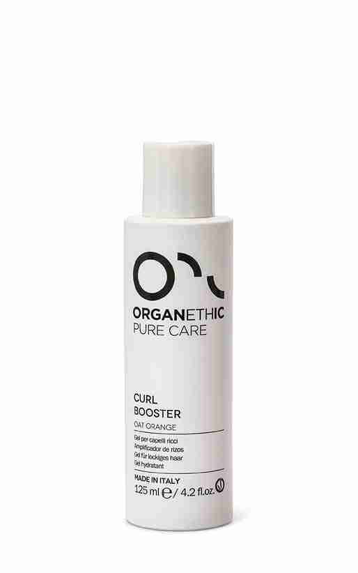 Organethic Pure Care curl booster for curly hair