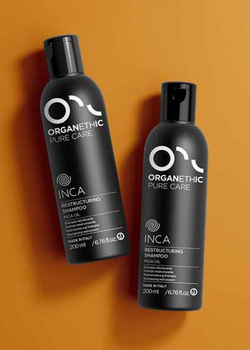Inca restructuring shampoo and conditioner
