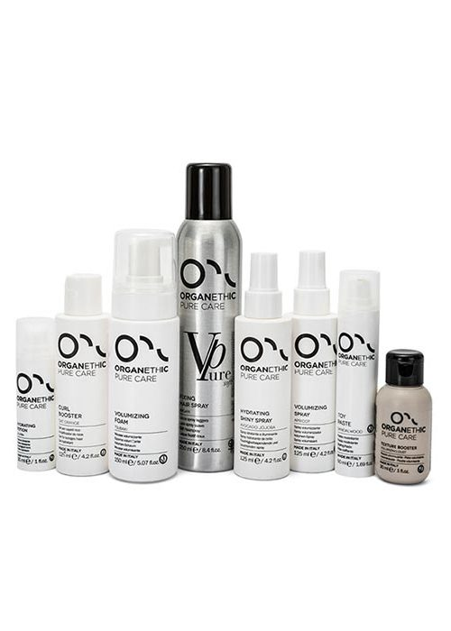 Organethic Pure Care Hair Styling and finishing products